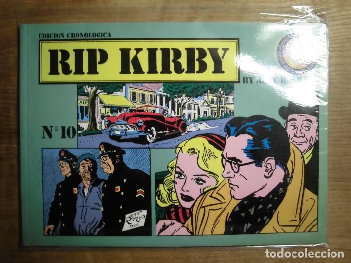 RIP KIRBY BY ALEX RAYMOND Nº 10 EDICIÓN CRONOLÓGICA EDICIONES ESEUVE ART COMICS (Tebeos y Comics - Magerit - Rip Kirby)