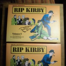 Cómics: RIP KIRBY EDICIÓN CRONOLÓGICA COMPLETA EN 2 VOLÚMENES EDICIONES STUDIO COMICS. Lote 232029070