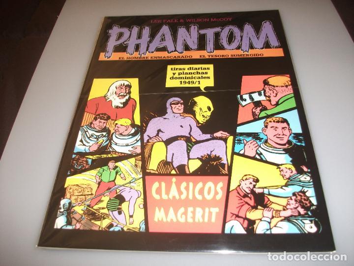 PHANTOM MAGERIT TIRAS DIARIAS Y PLANCHAS DOMINICALES 1949/1 (Tebeos y Comics - Magerit - Phantom)