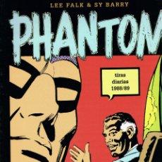 Cómics: PHANTOM (EL HOMBRE ENMASCARADO) POR LEE FALK Y SY BARRY. VOLUMEN XXXV TIRAS DIARIAS 1988/89. Lote 247084660