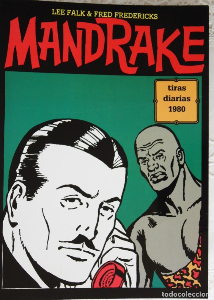 MANDRAKE DE FRED FREDERICKS TIRAS DIARIAS DE 1980 (Tebeos y Comics - Magerit - Mandrake)