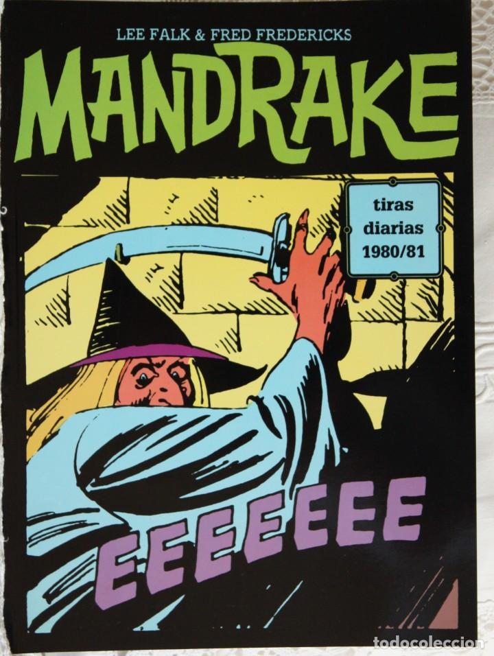 MANDRAKE DE FRED FREDERICKS TIRAS DIARIAS DE 1980/81 (Tebeos y Comics - Magerit - Mandrake)