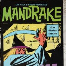 Cómics: MANDRAKE DE FRED FREDERICKS TIRAS DIARIAS DE 1980/81. Lote 261566995