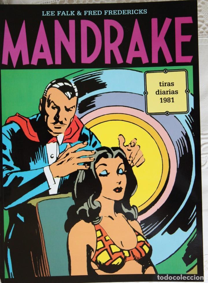MANDRAKE DE FRED FREDERICKS TIRAS DIARIAS DE 1981 (Tebeos y Comics - Magerit - Mandrake)