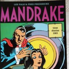 Cómics: MANDRAKE DE FRED FREDERICKS TIRAS DIARIAS DE 1981. Lote 261567205