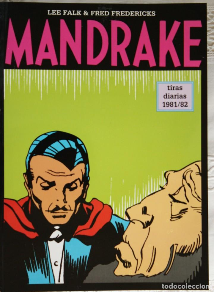 MANDRAKE DE FRED FREDERICKS TIRAS DIARIAS DE 1981/82 (Tebeos y Comics - Magerit - Mandrake)