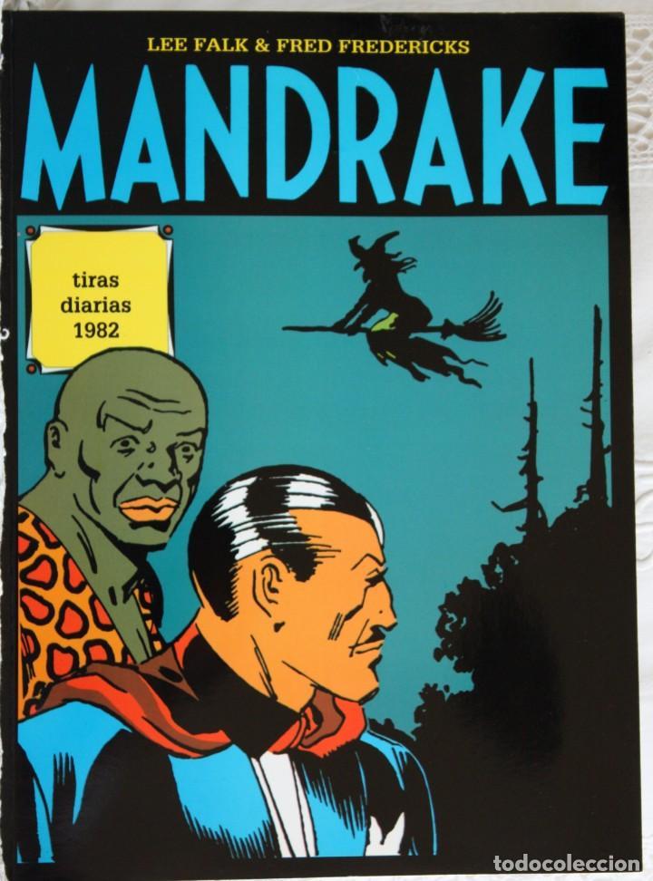 MANDRAKE DE FRED FREDERICKS TIRAS DIARIAS DE 1982 (Tebeos y Comics - Magerit - Mandrake)