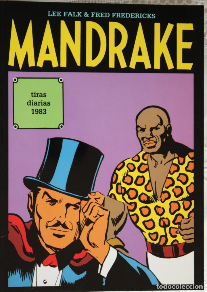 MANDRAKE DE FRED FREDERICKS TIRAS DIARIAS DE 1983 (Tebeos y Comics - Magerit - Mandrake)