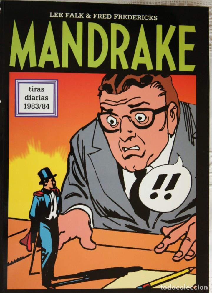 MANDRAKE DE FRED FREDERICKS TIRAS DIARIAS DE 1983/84 (Tebeos y Comics - Magerit - Mandrake)