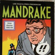 Cómics: MANDRAKE DE FRED FREDERICKS TIRAS DIARIAS DE 1983/84. Lote 261568920