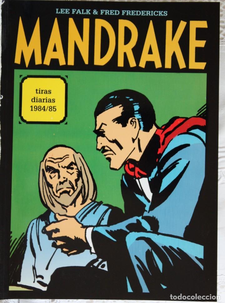 MANDRAKE DE FRED FREDERICKS TIRAS DIARIAS DE 1984/85 (Tebeos y Comics - Magerit - Mandrake)