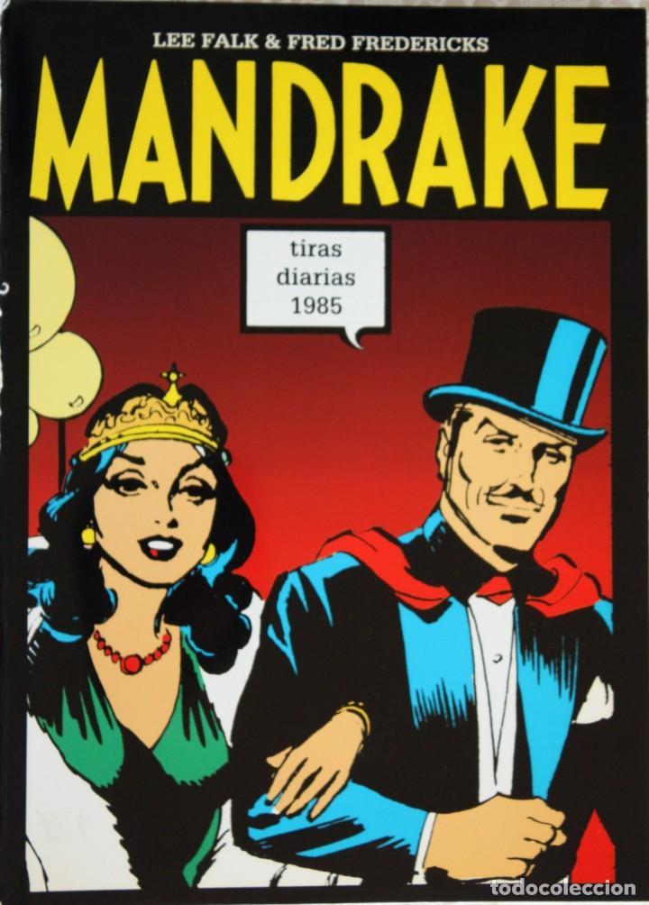 MANDRAKE DE FRED FREDERICKS TIRAS DIARIAS DE 1985 (Tebeos y Comics - Magerit - Mandrake)