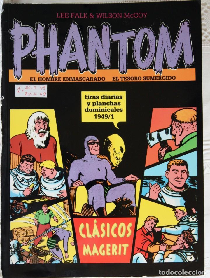 PHANTOM WILSON MCCOY VOLUMEN XI - 1949/1 (Tebeos y Comics - Magerit - Mandrake)