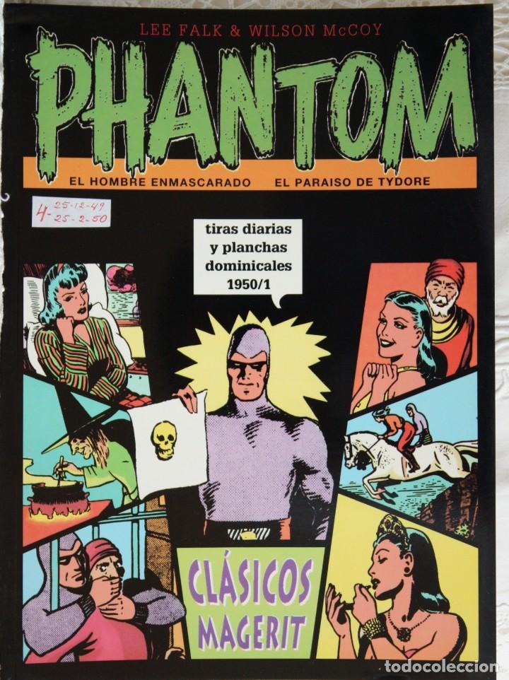 PHANTOM WILSON MCCOY VOLUMEN XXVIII - 1950/1 (Tebeos y Comics - Magerit - Mandrake)