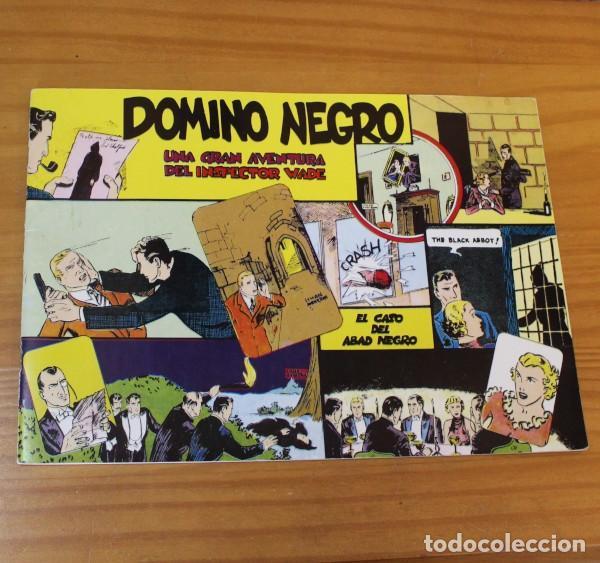 INSPECTOR WADE 4 DOMINO NEGRO, EL CASO DEL ABAD NEGRO. EUROCLUB MAGERIT 1995 (Tebeos y Comics - Magerit - Otros)
