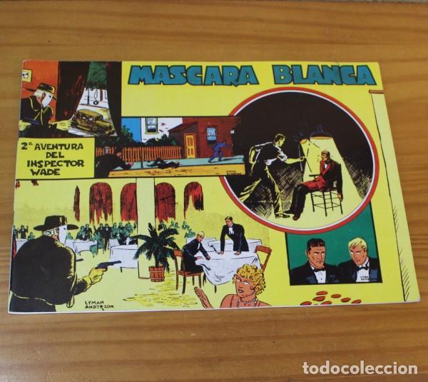 INSPECTOR WADE 2 MASCARA BLANCA, EDGAR WALLACE, LYMAN ANDERSON. EUROCLUB MAGERIT 1995 (Tebeos y Comics - Magerit - Otros)