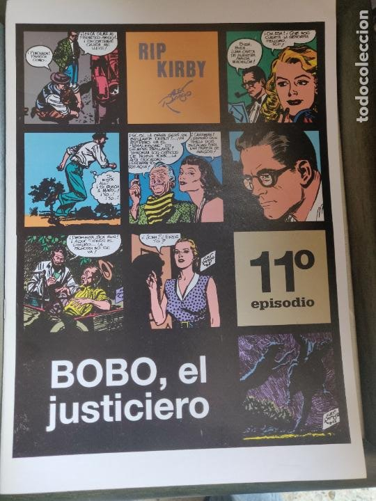 RIP KIRBY 11 (Tebeos y Comics - Magerit - Rip Kirby)