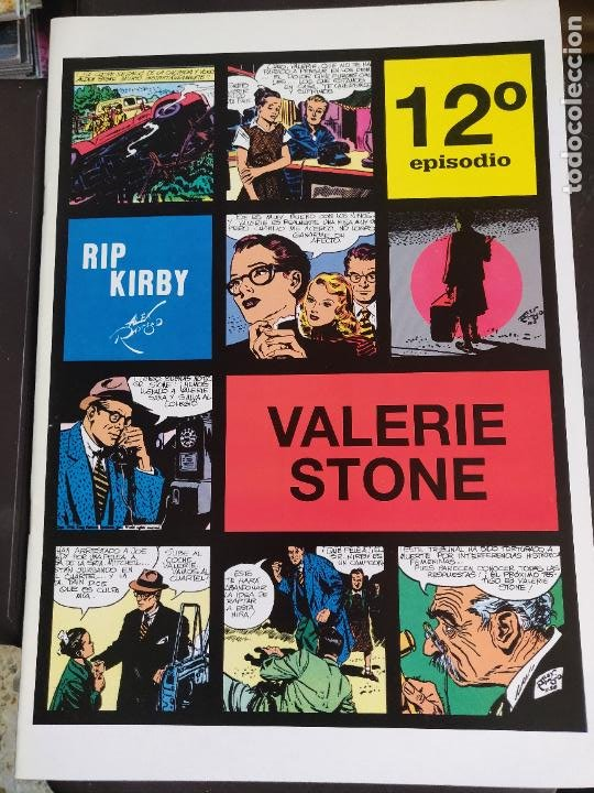 RIP KIRBY 12 (Tebeos y Comics - Magerit - Rip Kirby)