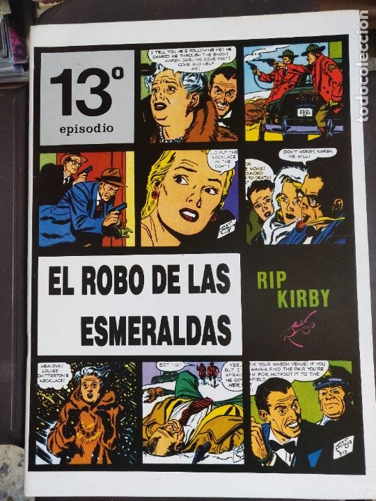 RIP KIRBY 13 (Tebeos y Comics - Magerit - Rip Kirby)
