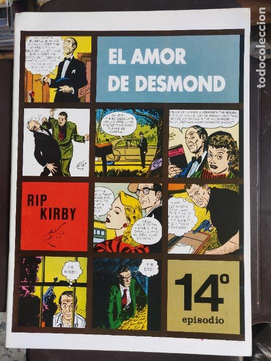 RIP KIRBY 14 (Tebeos y Comics - Magerit - Rip Kirby)
