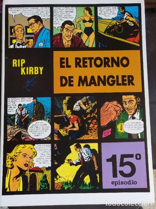 RIP KIRBY 15 (Tebeos y Comics - Magerit - Rip Kirby)