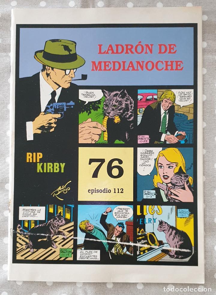 RIP KIRBY. NÚMERO 76, EPISODIO 112. CON MANCHAS DE HUMEDAD. VER FOTOS (Tebeos y Comics - Magerit - Rip Kirby)