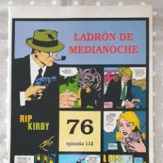 Cómics: RIP KIRBY. NÚMERO 76, EPISODIO 112. CON MANCHAS DE HUMEDAD. VER FOTOS. Lote 265533889