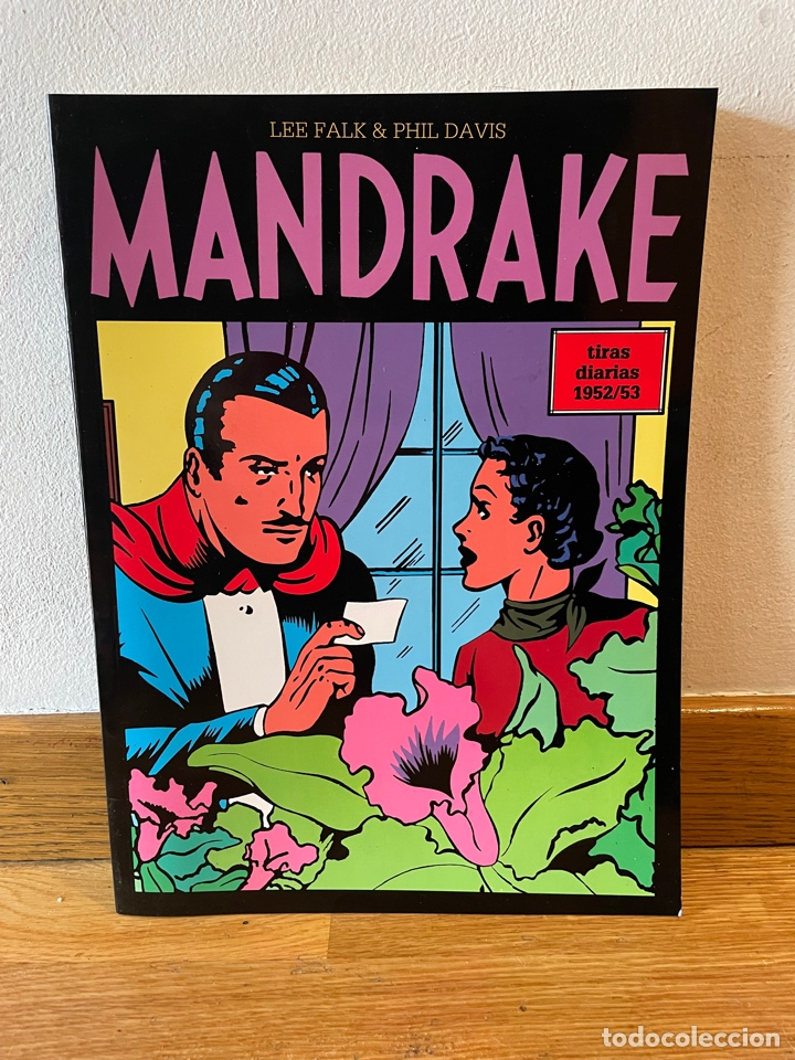 MANDRAKE LEE FALK & PHIL DAVIS TIRAS DIARIAS 1952/53 (Tebeos y Comics - Magerit - Mandrake)