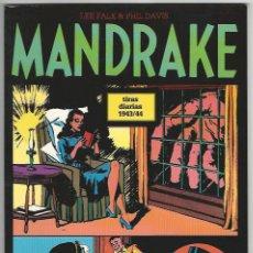 Cómics: MAGERIT. MANDRAKE. TIRAS DIARIAS. 1943/44.. Lote 271182418
