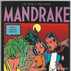 Cómics: MAGERIT. MANDRAKE. TIRAS DIARIAS. 1945/46.. Lote 271250223