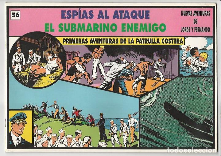 MAGERIT. JORGE Y FERNANDO. 56. (Tebeos y Comics - Magerit - Jorge y Fernando)