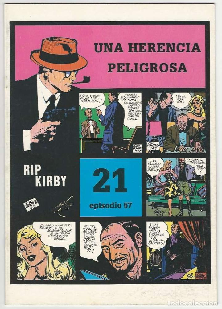 MAGERIT. RIP KIRBY. 21 (Tebeos y Comics - Magerit - Rip Kirby)