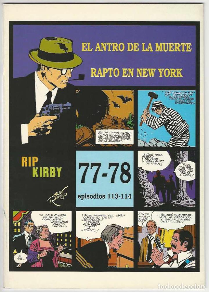 MAGERIT. RIP KIRBY. 77 - 78. (Tebeos y Comics - Magerit - Rip Kirby)