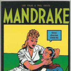 Cómics: MAGERIT. MANDRAKE. TIRAS DIARIAS. 1944/45.. Lote 271284238