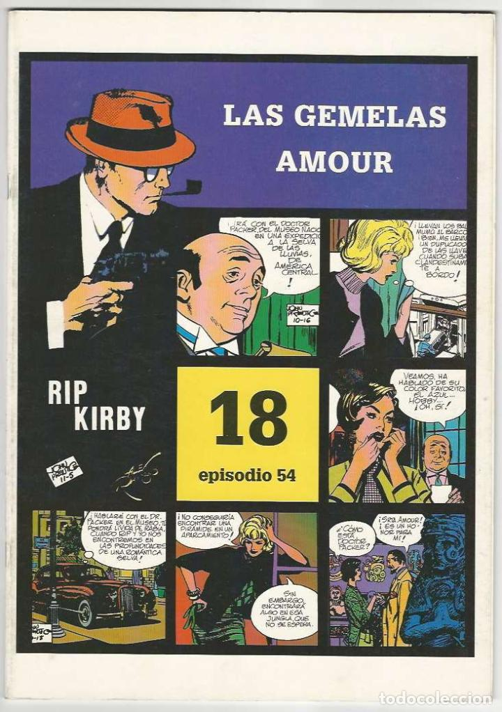 MAGERIT. RIP KIRBY. 18 (Tebeos y Comics - Magerit - Rip Kirby)