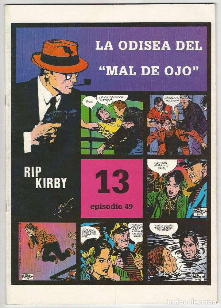 MAGERIT. RIP KIRBY. 13. (Tebeos y Comics - Magerit - Rip Kirby)