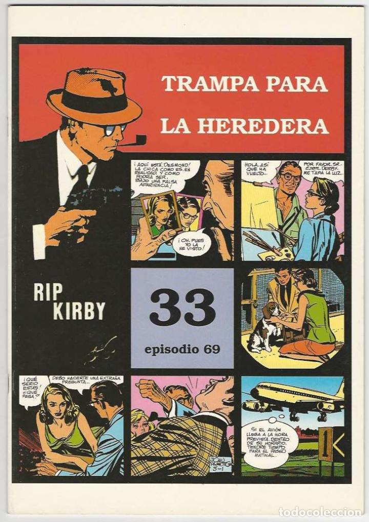 MAGERIT. RIP KIRBY. 33 (Tebeos y Comics - Magerit - Rip Kirby)