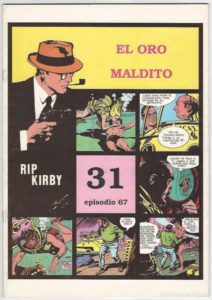 MAGERIT. RIP KIRBY. 31 (Tebeos y Comics - Magerit - Rip Kirby)