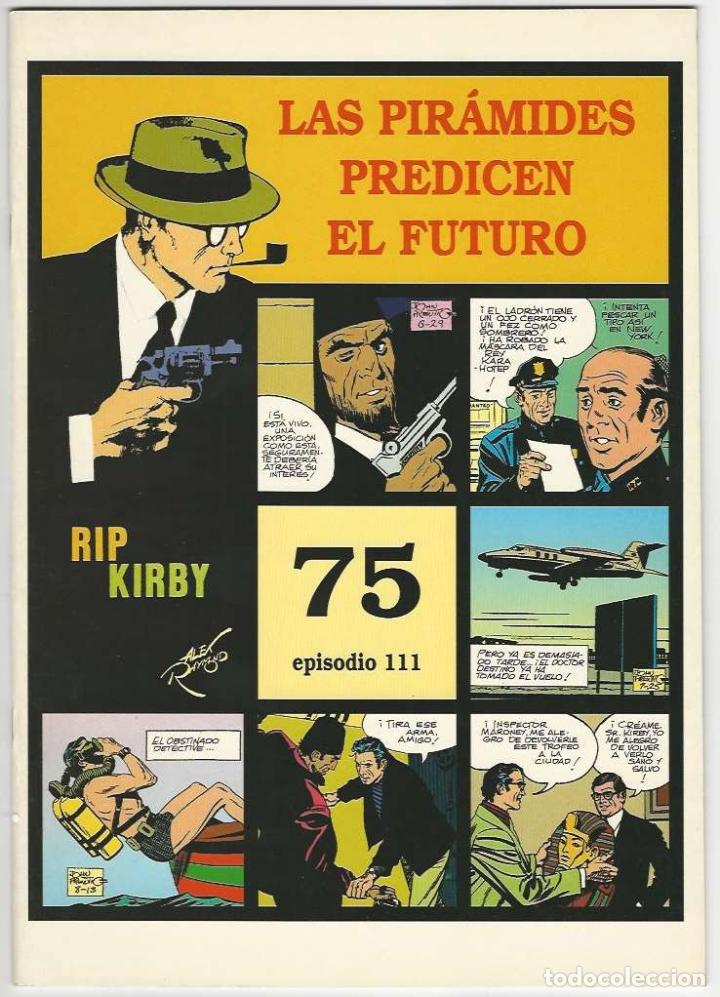 MAGERIT. RIP KIRBY. 75 (Tebeos y Comics - Magerit - Rip Kirby)