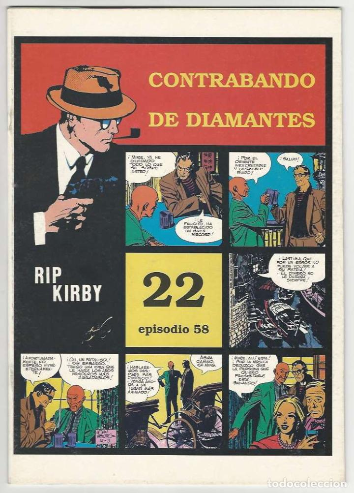 MAGERIT. RIP KIRBY. 22 (Tebeos y Comics - Magerit - Rip Kirby)