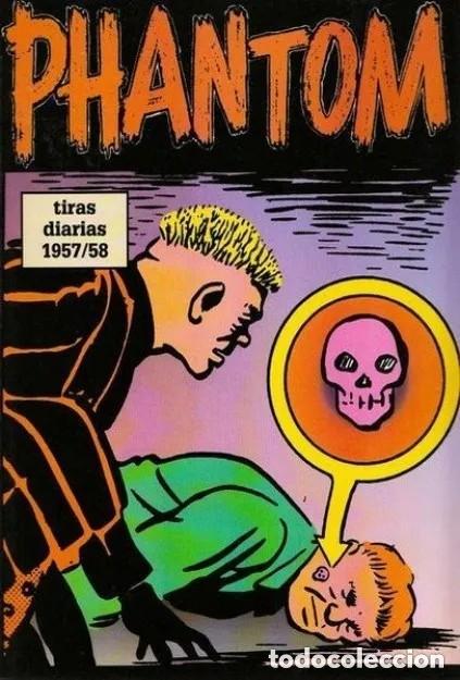 PHANTOM TIRAS DIARIAS Nº 14 1957 / 58 (LEE FALK / WILSON MCCOY) EDIT MAGERIT MUY BUEN ESTADO -SUB02M (Tebeos y Comics - Magerit - Phantom)