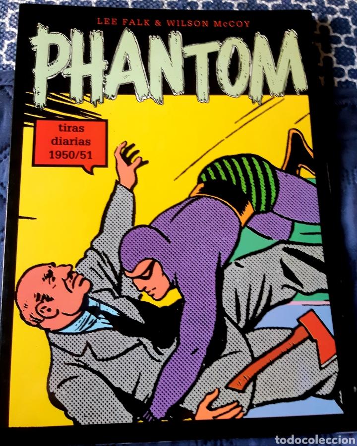 TEBEOS-COMICS CANDY - PHANTOM - TIRAS DIARIAS 1950/51 - MAGERIT - AA99 (Tebeos y Comics - Magerit - Phantom)