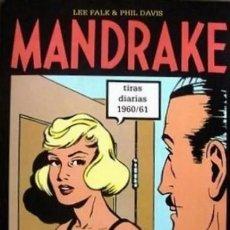 Cómics: MANDRAKE TIRAS DIARIAS Nº 18 1960 / 61 (LEE FALK / PHIL DAVIS) EDIT MAGERIT MUY BUEN ESTADO - SUB03M. Lote 286805238