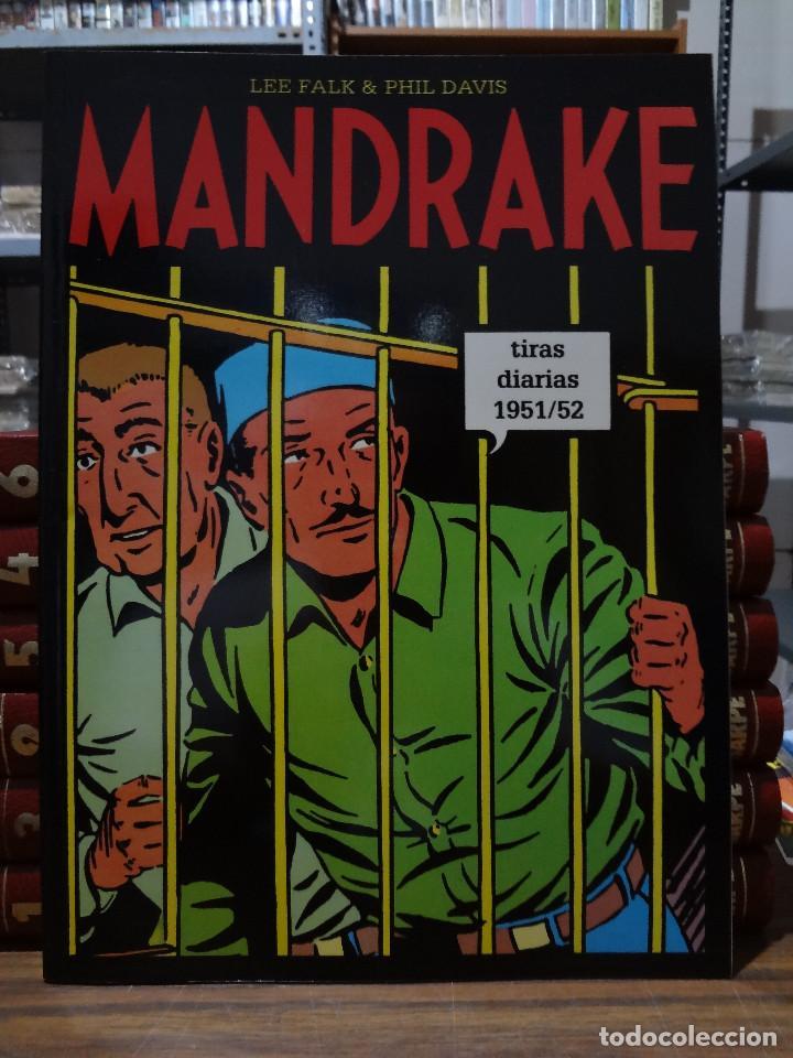 MANDRAKE TIRAS DIARIAS 1951/52 - LEE FALK & PHIL DAVIS - EUROCLUB MAGERIT - TOMO 28 (Tebeos y Comics - Magerit - Mandrake)