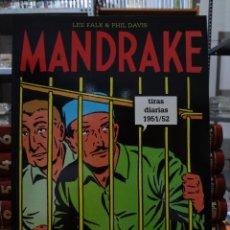 Cómics: MANDRAKE TIRAS DIARIAS 1951/52 - LEE FALK & PHIL DAVIS - EUROCLUB MAGERIT - TOMO 28. Lote 287045733