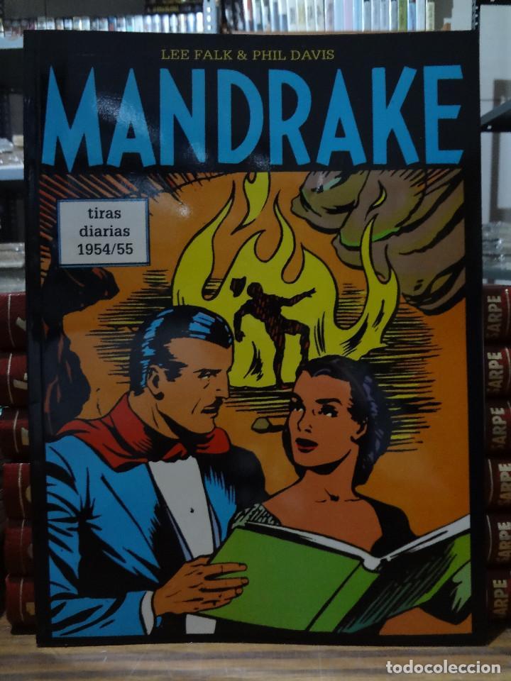 MANDRAKE TIRAS DIARIAS 1954/55 - LEE FALK & PHIL DAVIS - EUROCLUB MAGERIT - TOMO 31 (Tebeos y Comics - Magerit - Mandrake)