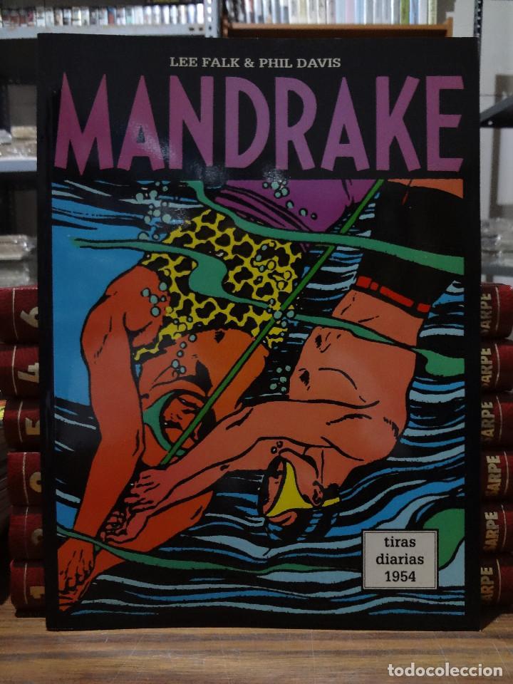 MANDRAKE TIRAS DIARIAS 1954 - LEE FALK & PHIL DAVIS - EUROCLUB MAGERIT - TOMO 24 (Tebeos y Comics - Magerit - Mandrake)