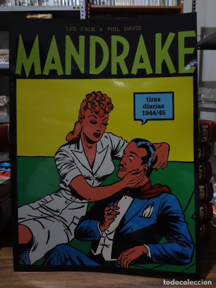 MANDRAKE TIRAS DIARIAS 1944/45 - LEE FALK & PHIL DAVIS - EUROCLUB MAGERIT - TOMO 5 (Tebeos y Comics - Magerit - Mandrake)