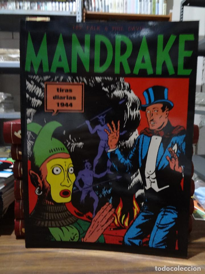 MANDRAKE TIRAS DIARIAS 1944 - LEE FALK & PHIL DAVIS - EUROCLUB MAGERIT - TOMO 9 (Tebeos y Comics - Magerit - Mandrake)