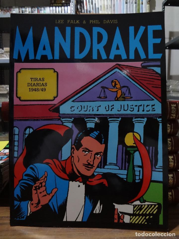 MANDRAKE TIRAS DIARIAS 1948/49 - LEE FALK & PHIL DAVIS - EUROCLUB MAGERIT - TOMO 4 (Tebeos y Comics - Magerit - Mandrake)